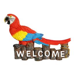 Vitale Pretty Papağan Biblo 32x23 cm AK.BZ0152