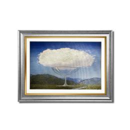 Vitale Ağaç Bulut Çerçeveli Tablo 60x45 cm AK.DD0153