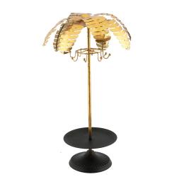 Vitale Gold Metal Dekoratif Palmiye Ağaçı 26x55 cm AK.DF0078
