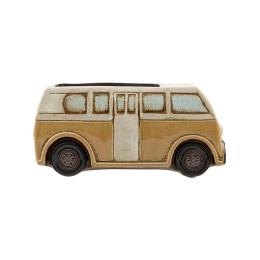 Vitale Duke Dekoratif Sarı Seramik Otobüs AK.FU0043