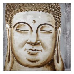 Vitale Buda Dekoratif Tablo 100x100 cm AK.GI0014