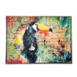Vitale Doru Papağan Ahşap Tablo 53x73 cm AK.GI0024