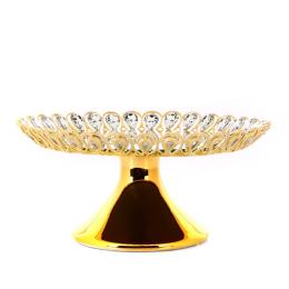 Vitale Nila Gold Dekoratif Kase 27x12 cm AK.HQ0009