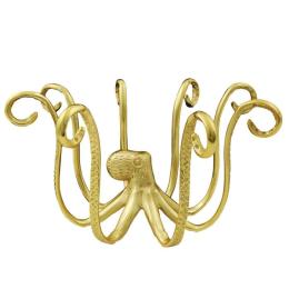 Vitale Metal Gold Ahtapot Mücevher Standı 28x23 cm AK.HY0016