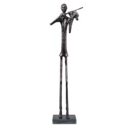 Vitale Keman Çalan Adam Dekoratif Biblo10x72 cm AK.IJ0016