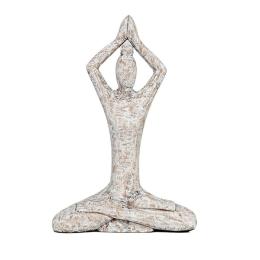 Vitale Yoga Yapan Kadın Biblo 25x36 cm AK.IT0017