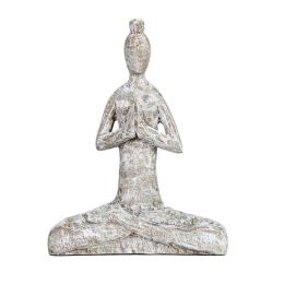 Vitale Yoga Yapan Kadın Biblo 25x34 cm AK.IT0018