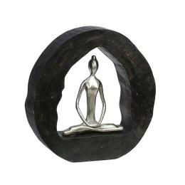 Vitale Yoga Yapan Kadın Biblo 28x27  cm AK.IT0021