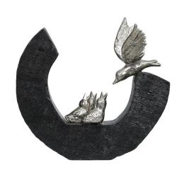 Vitale Dekoratif Kuşlu Biblo 29x55 cm AK.IT0027