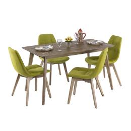 Vitale Mirto Yemek Masası Seti MS.MA023-SET
